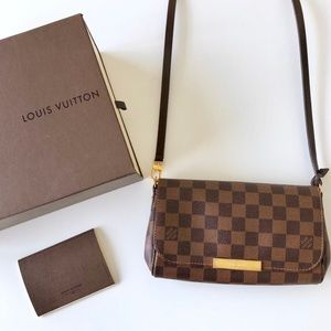 Louis Vuitton Damier Ebene Favorite PM